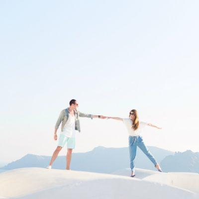 #MeetTheMindells: Our Honeymoon in Santorini