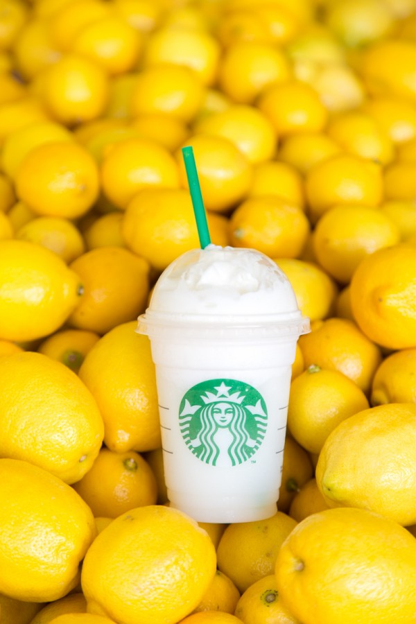 Starbucks Lemon Bar Frappuccino
