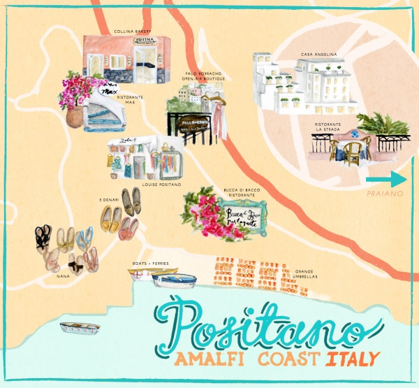 Where to Go in Positano