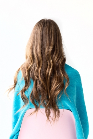 DIY Temporary Colombré Hair
