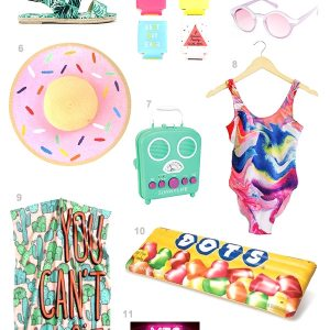 12 Summer Pool Party Must-Haves