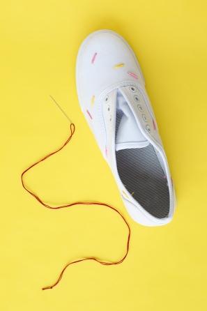 DIY Ice Cream Sneakers