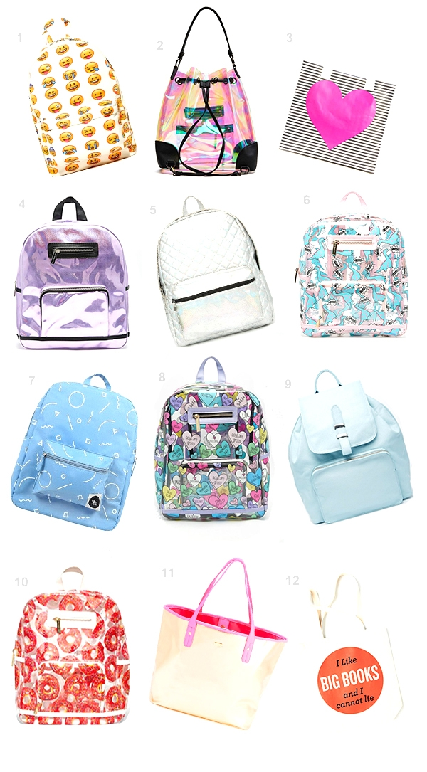 12 Statement Backpacks for Back to School
