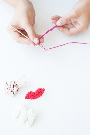 DIY Crochet Backpack Flair