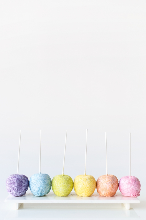 Pastel Candy Apples