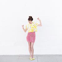 DIY Popcorn Costume | studiodiy.com