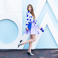 Three Bold + Colorful Looks for Fall