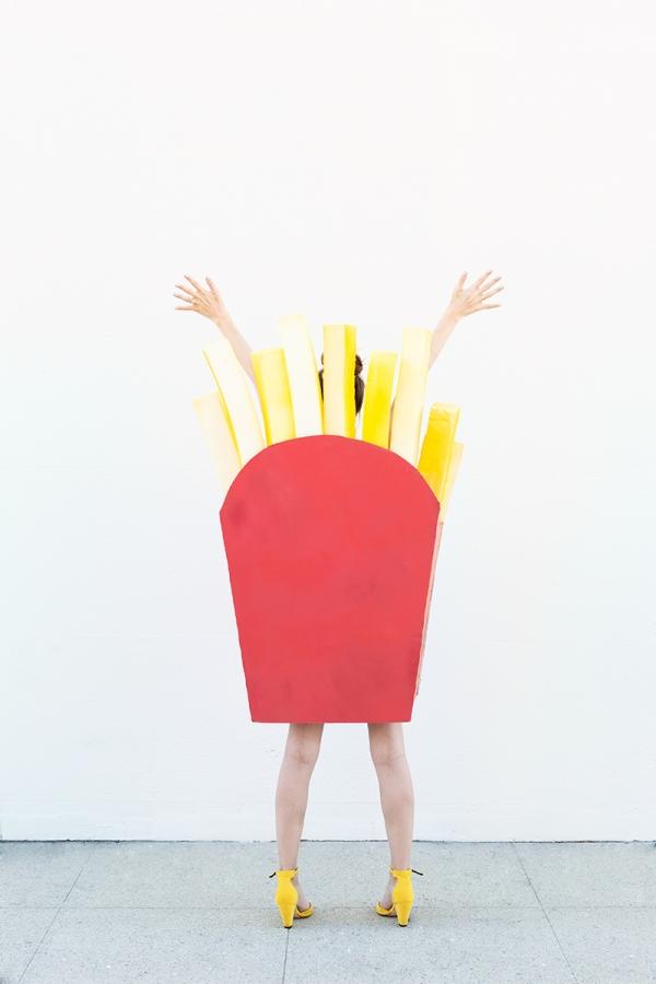 DIY Fries Costume | studiodiy.com