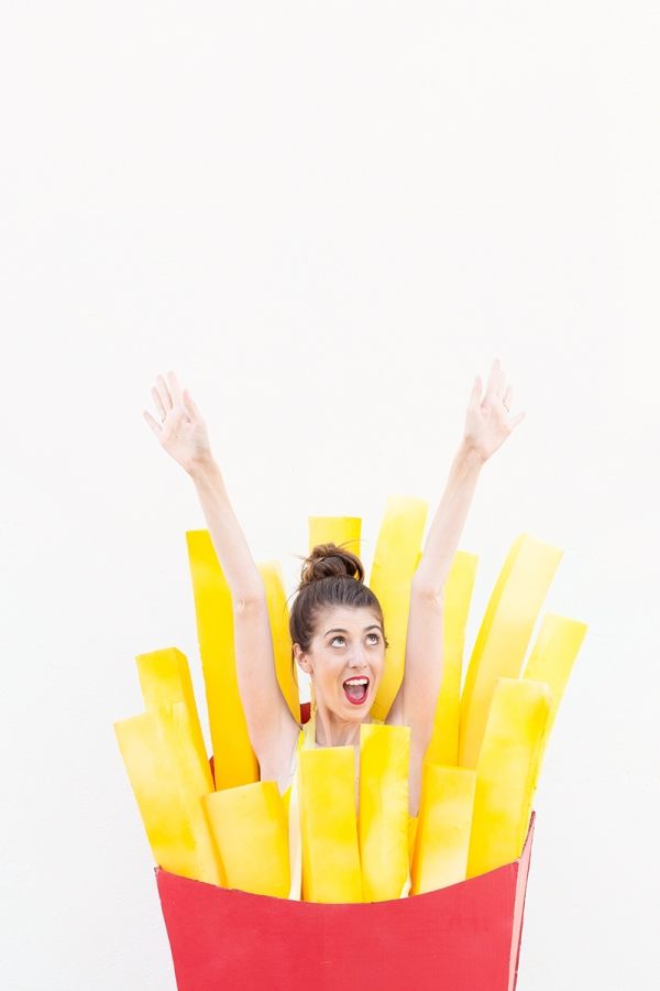 DIY Fries Before Guys Costume | studiodiy.com