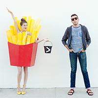 DIY Fries (Before Guys!) Costume
