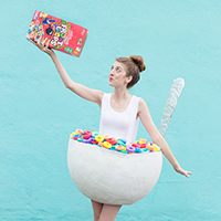 DIY Cereal Bowl Costume - Studio DIY