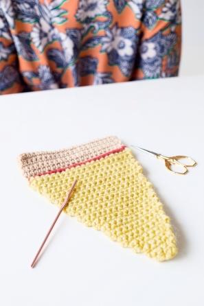 DIY Crochet Pizza Sweater | studiodiy.com