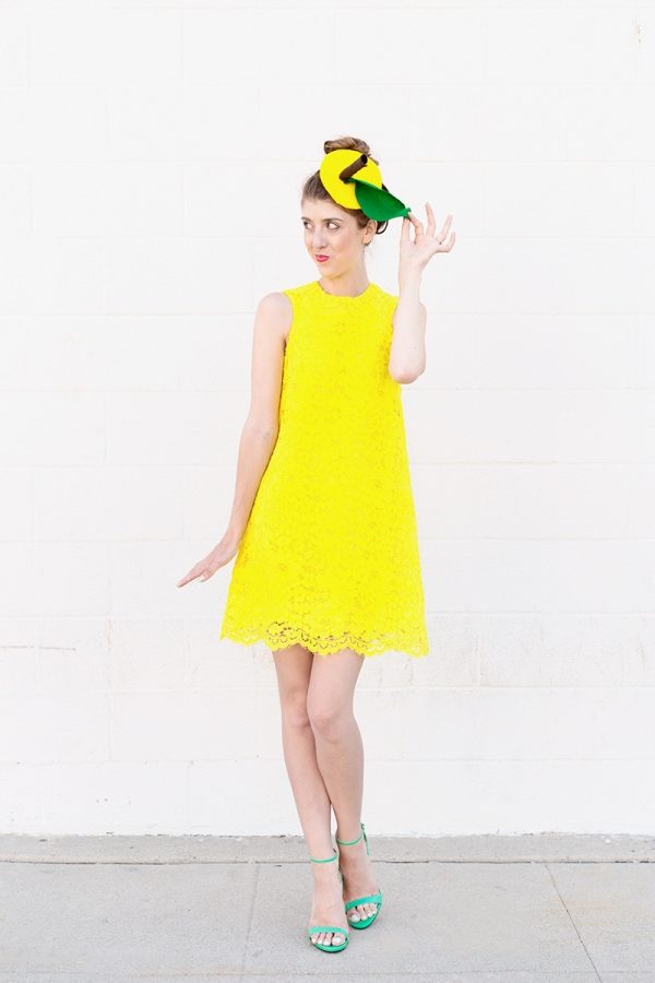DIY Lemon Costume