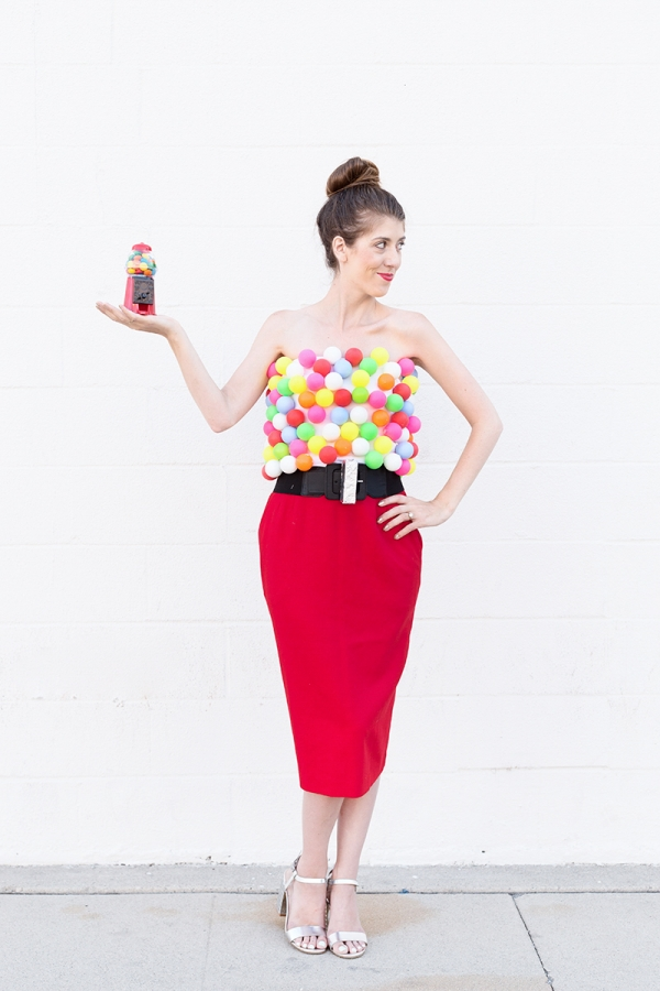 DIY Gumball Machine Costume | studiodiy.com
