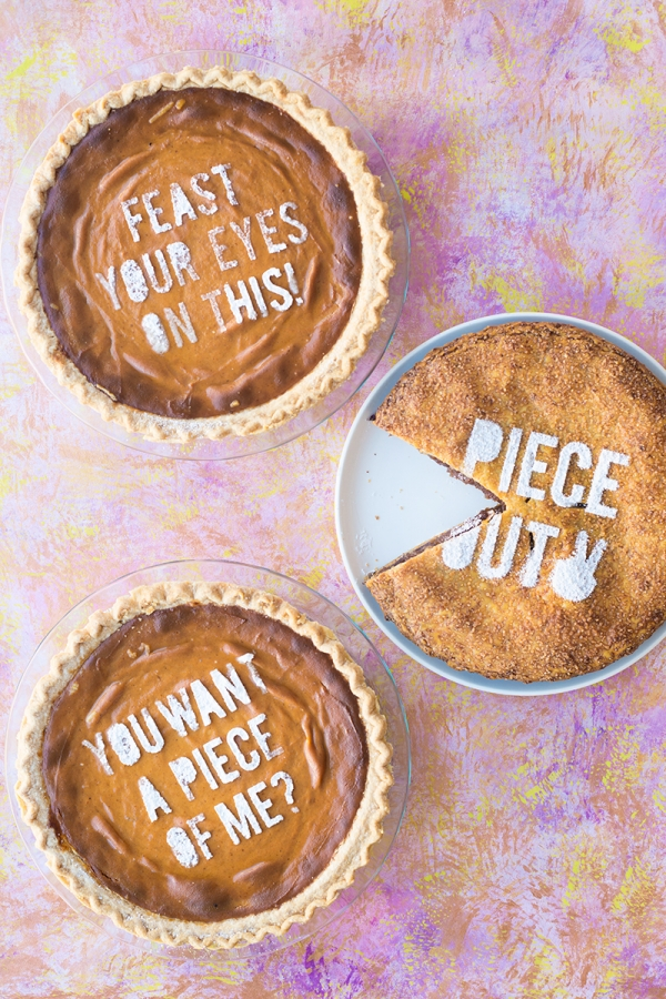 DIY Pie Stencil Puns | studiodiy.com