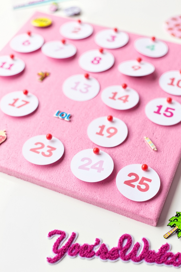 DIY Flair Advent Calendar | studiodiy.com