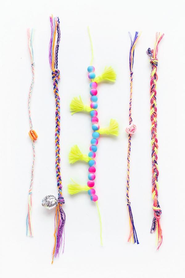 DIY Friendship Bracelets | studiodiy.com