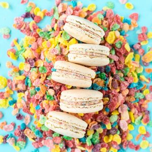 Fruity Pebbles Macarons