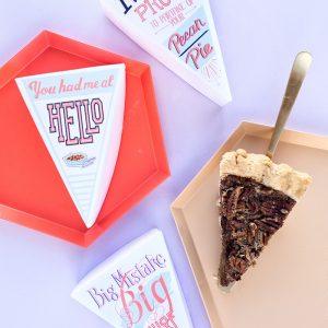 You Had Me At Hello: Leftover Pie Labels (+ A Pecan Pie Recipe!)