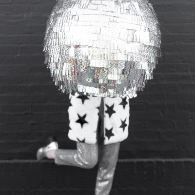 DIY Disco Ball Piñata