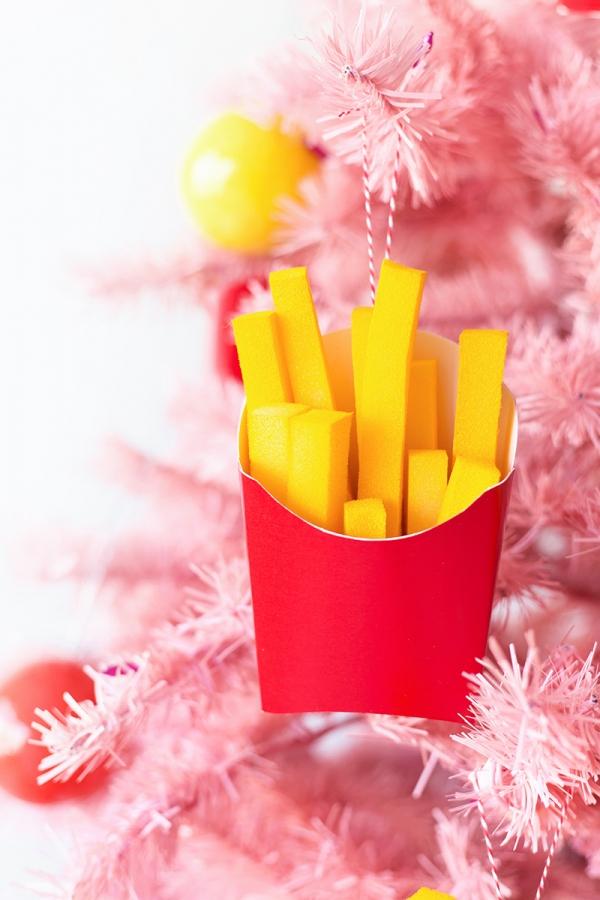 DIY French Fries Ornaments | studiodiy.com