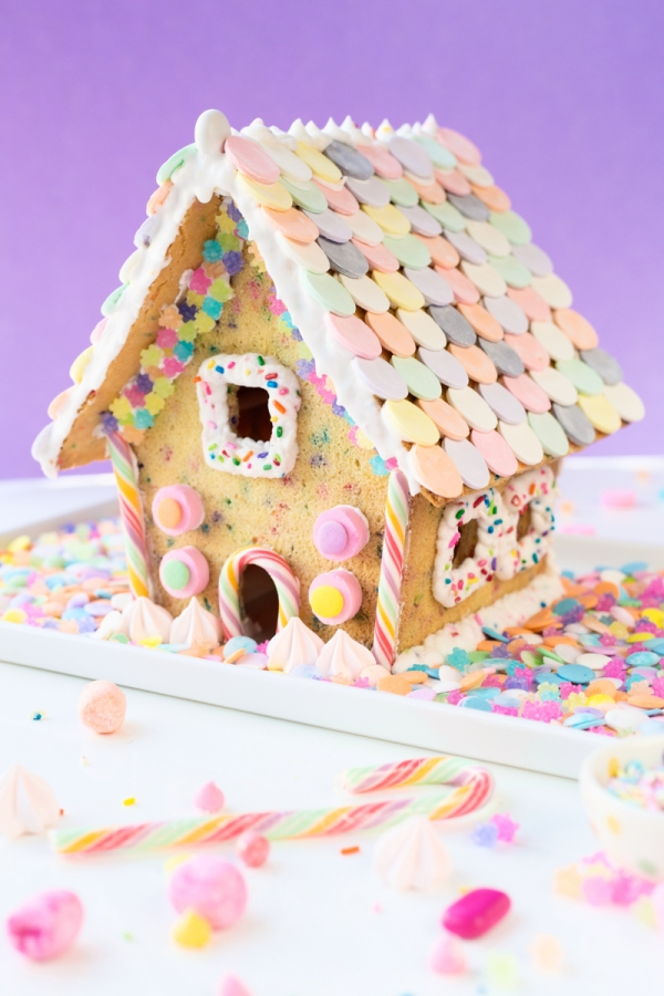 Funfetti Fied Funfetti Sugar Cookie House Studio Diy