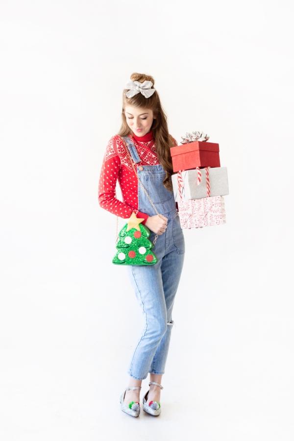 Three Sparkly Holiday Looks (From Head to Toe!) | studiodiy.com