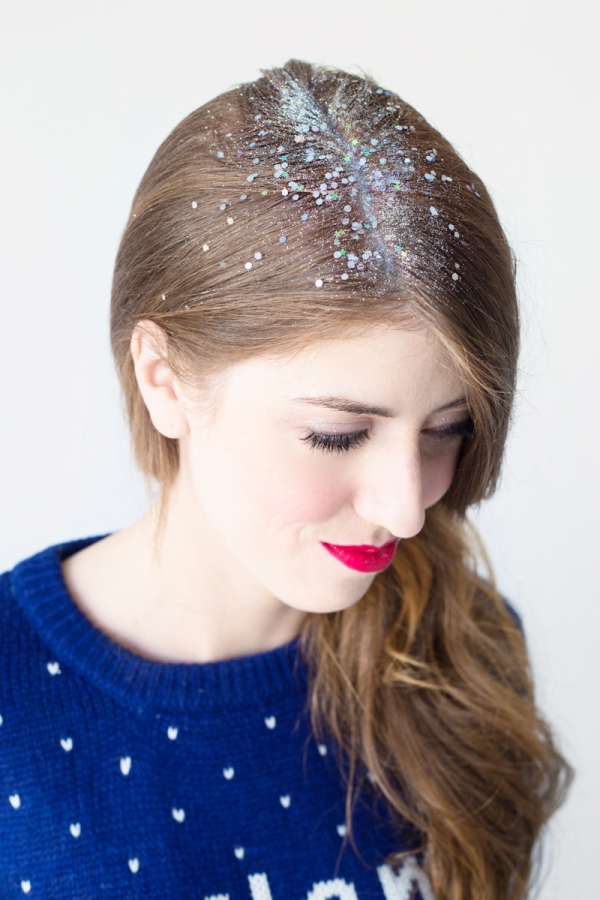 DIY Glitter Roots | studiodiy.com