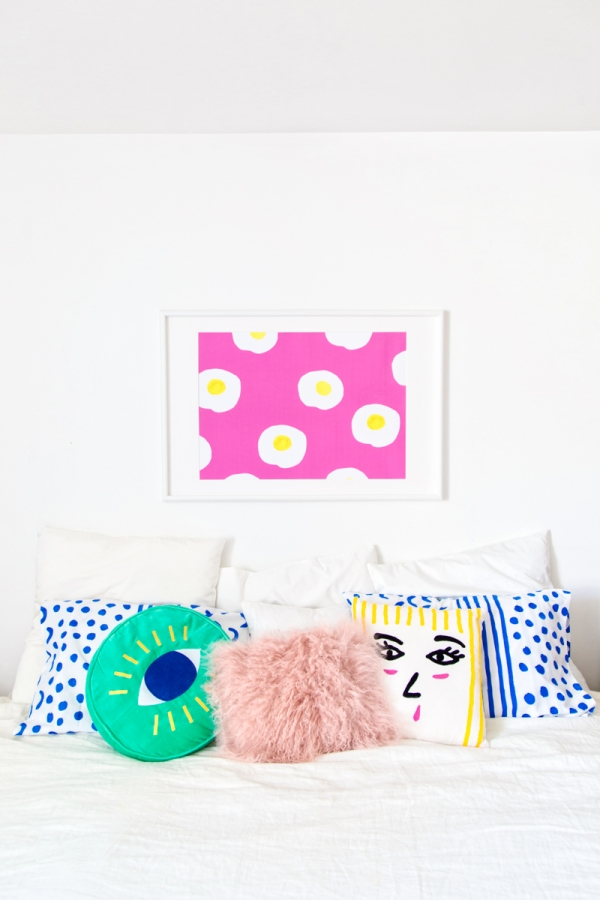 Colorful Master Bedroom | studiodiy.com