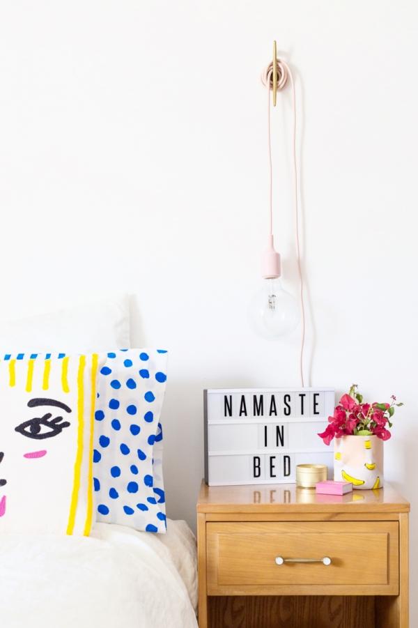 Namaste in Bed | studiodiy.com