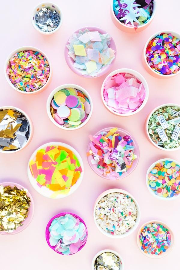 A Guide to the Best Confetti | studiodiy.com