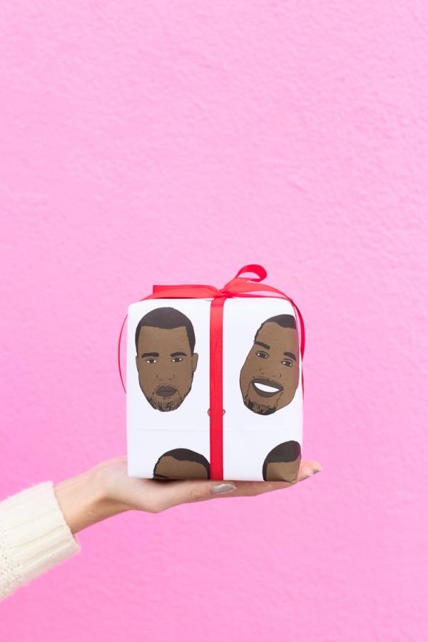 Kanye Wrapping Paper | studiodiy.com