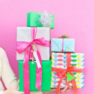 Four Awesome Holiday Gift Wrap Pairings