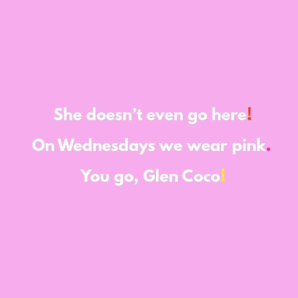 Favorite Mean Girls Quotes | studiodiy.com