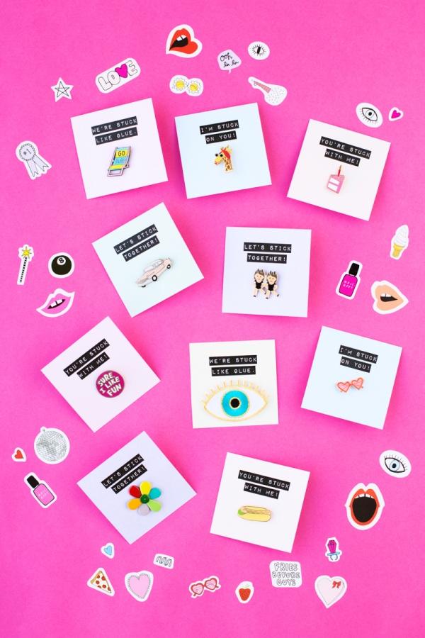 Flair Valnetine Printables | studiodiy.com