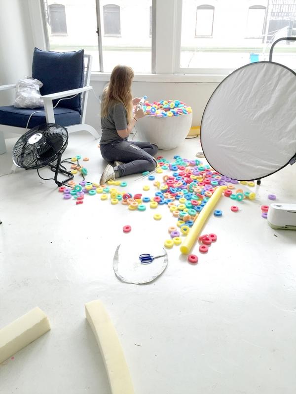 Studio DIY Behind the Scenes