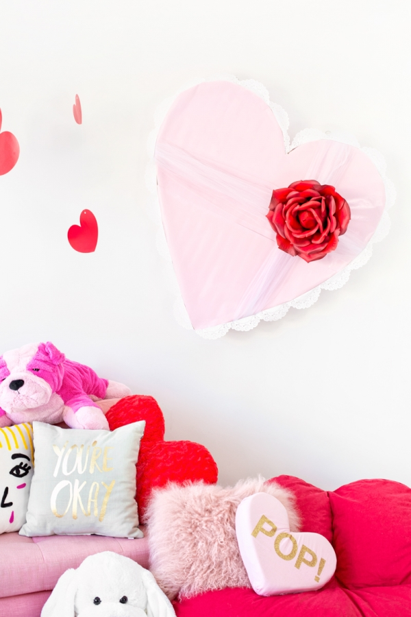 DIY Giant Vintage Valentine Chocolate Box | studiodiy.com