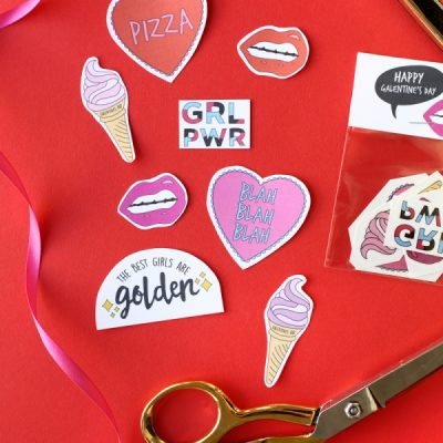 Free Printable Galentine's Day Tattoos