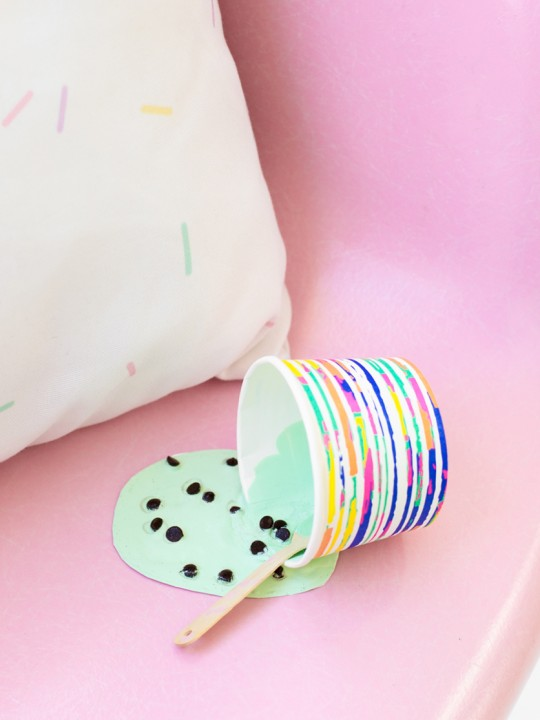 DIY Ice Cream April Fools Prank