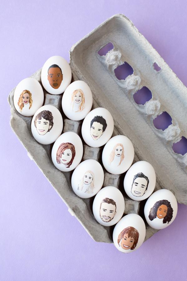 Celebrity Easter Eggs-1
