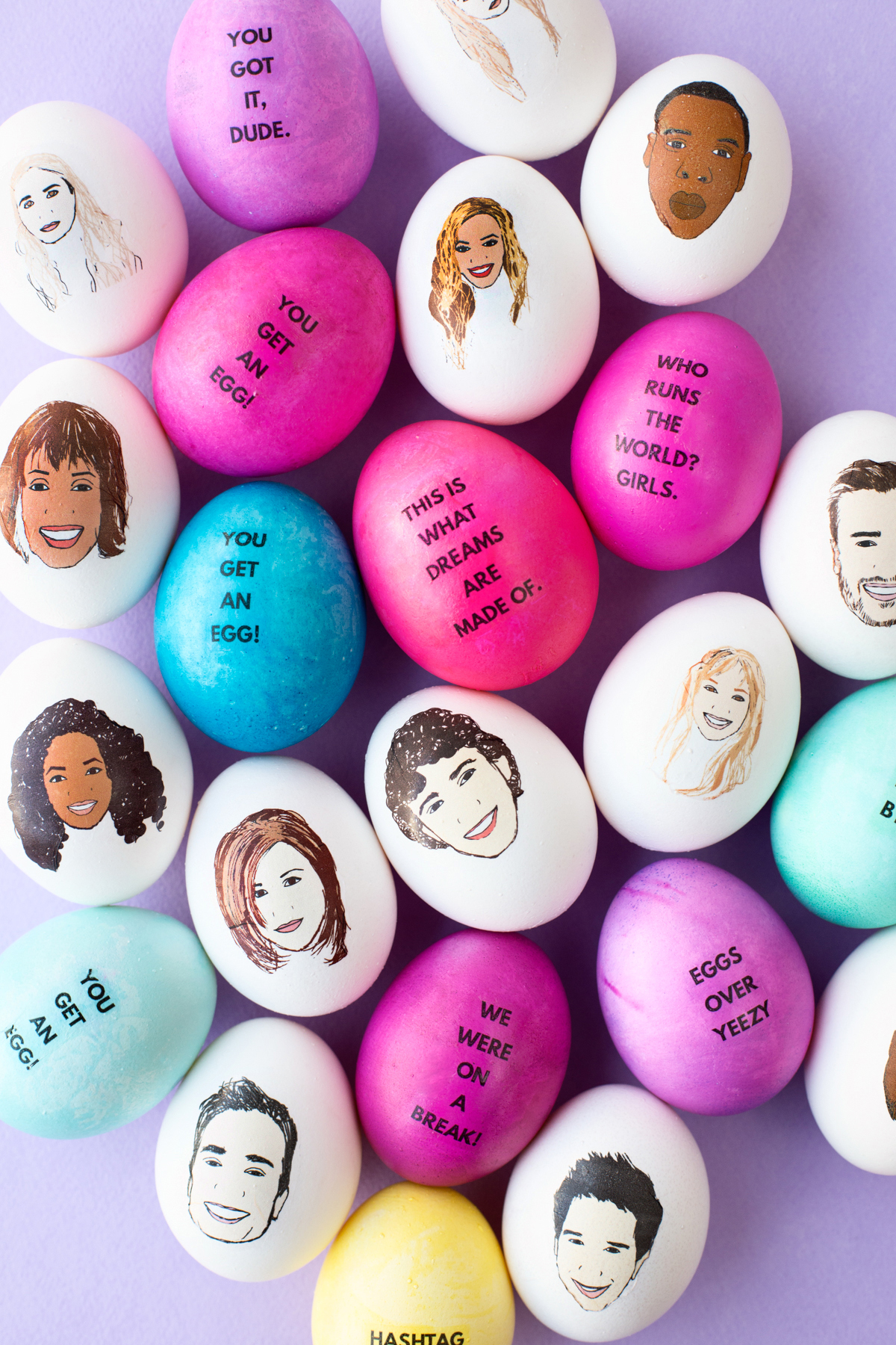 Diy Celebrity Easter Eggs Studio Diy