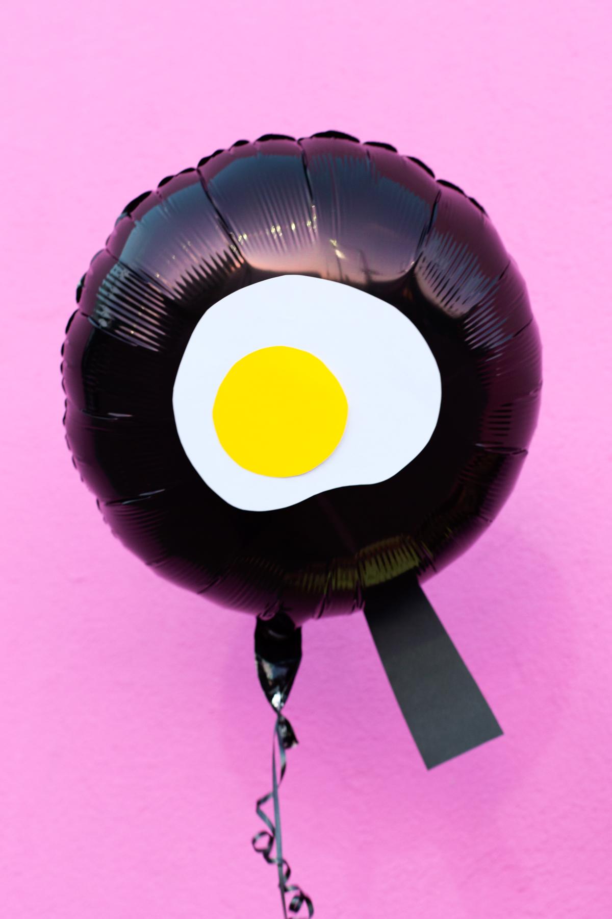 Diy Fried Egg Emoji Balloons Studio Diy