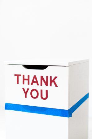 "DIY ""Thank You"" File Cabinet | studiodiy.com"