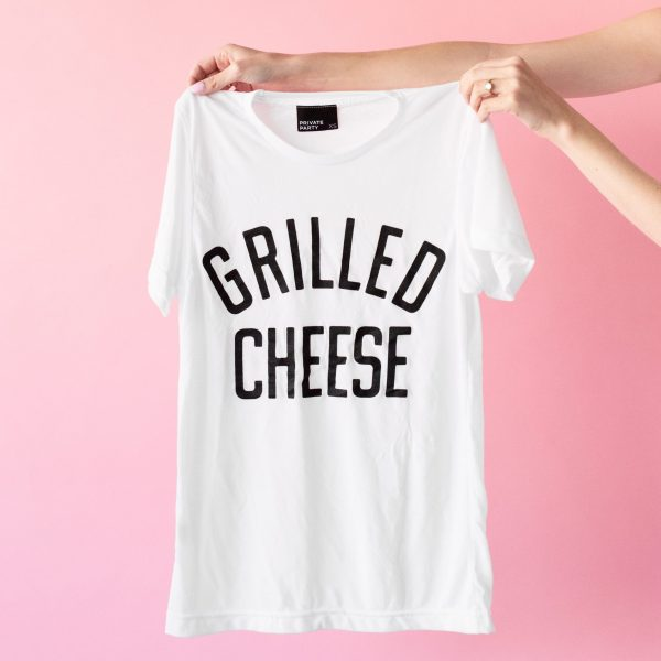 Grilled Cheese Shirt | studiodiy.com
