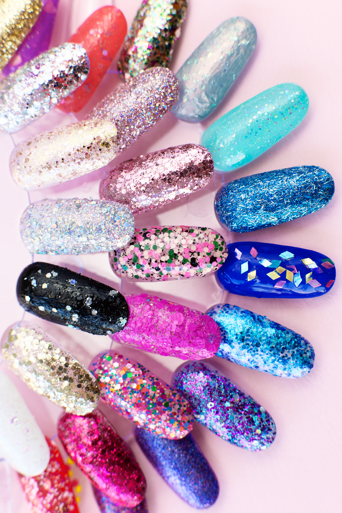 How To Remove Glitter Nail Polish Our 30 Favorite Glitter Polishes Studio Diy