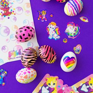 Throwback! | DIY Lisa Frank Easter Eggs