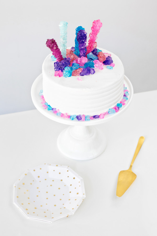 Rock Candy Cake | studiodiy.com