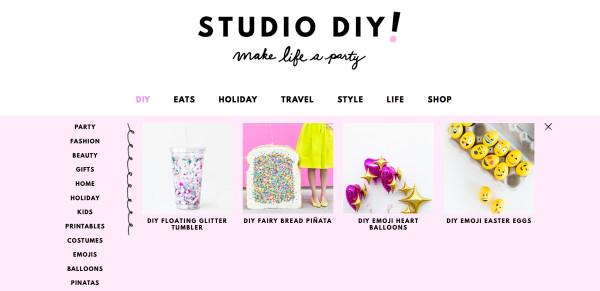 Studio DIY New Look!