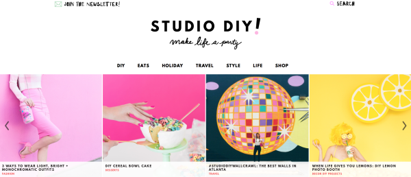 Studio DIY's New Look!