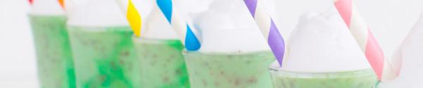 Creme De Menthe Ice Cream Shots
